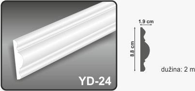 Zidna lajsna YD-24