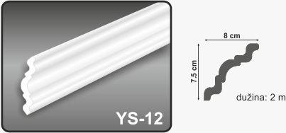 Ugaona lajsna YS-12