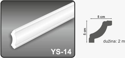 Ugaona lajsna YS-14