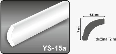 Ugaona lajsna YS-15a