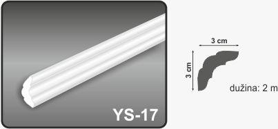 Ugaona lajsna YS-17