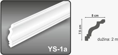 Ugaona lajsna YS-1a