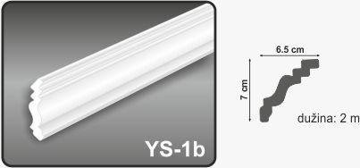 Ugaona lajsna YS-1b