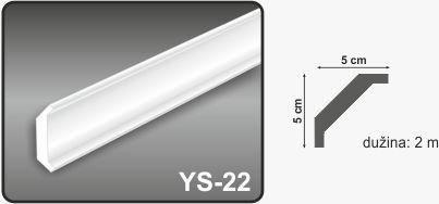 Ugaona lajsna YS-22
