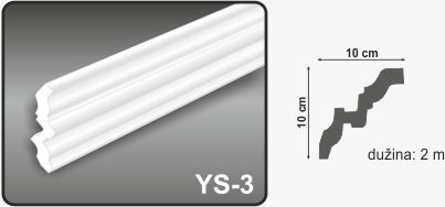 Ugaona lajsna YS-3