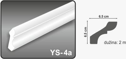 Ugaona lajsna YS-4a
