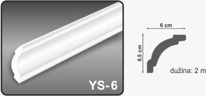 Ugaona lajsna YS-6
