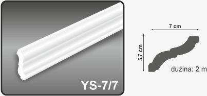 Ugaona lajsna YS-7.7