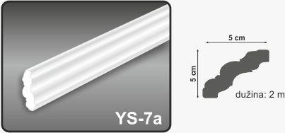 Ugaona lajsna YS-7a