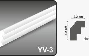 Ugaona lajsna YV-3