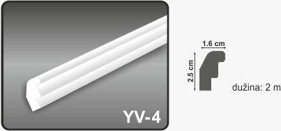 Ugaona lajsna YV-4