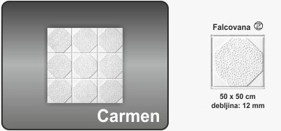 Plafonska obloga Carmen