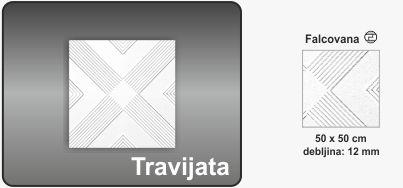 Plafonska obloga Travijata